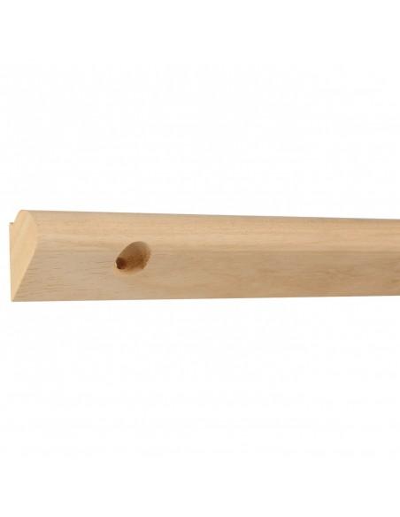 Szyna z drewna do wieszania obrazów