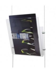Kieszeń na broszury wieszana na linkach Fly Bag
