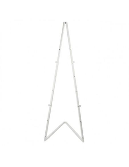 Sztaluga metalowa biała