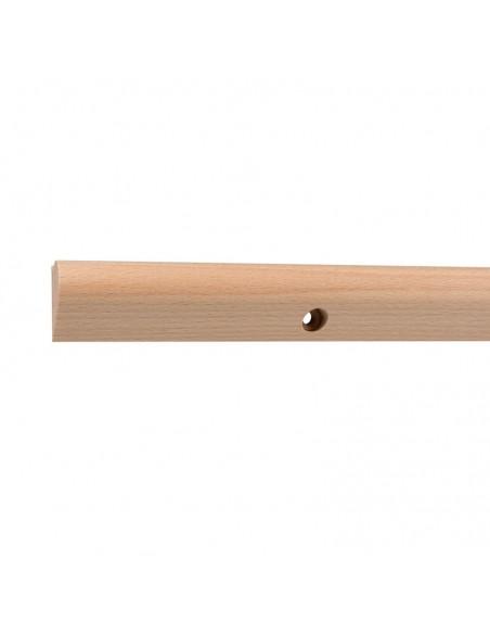 Szyna do wieszania obrazów drewniana